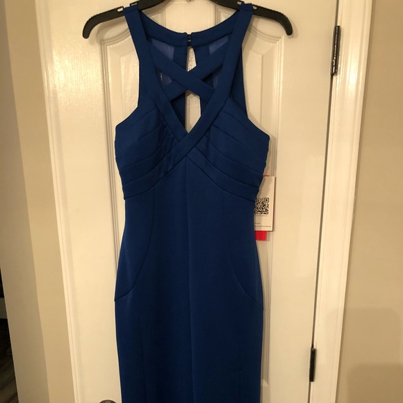 589de1b4c1 Emerald Sundae NWT royal blue floorlength dress XL